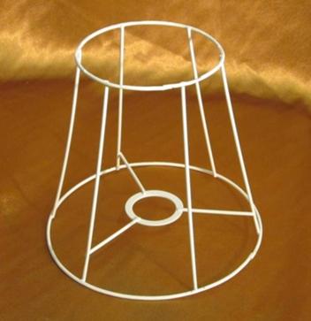 Как сделать каркас для абажура настольной лампы своими руками